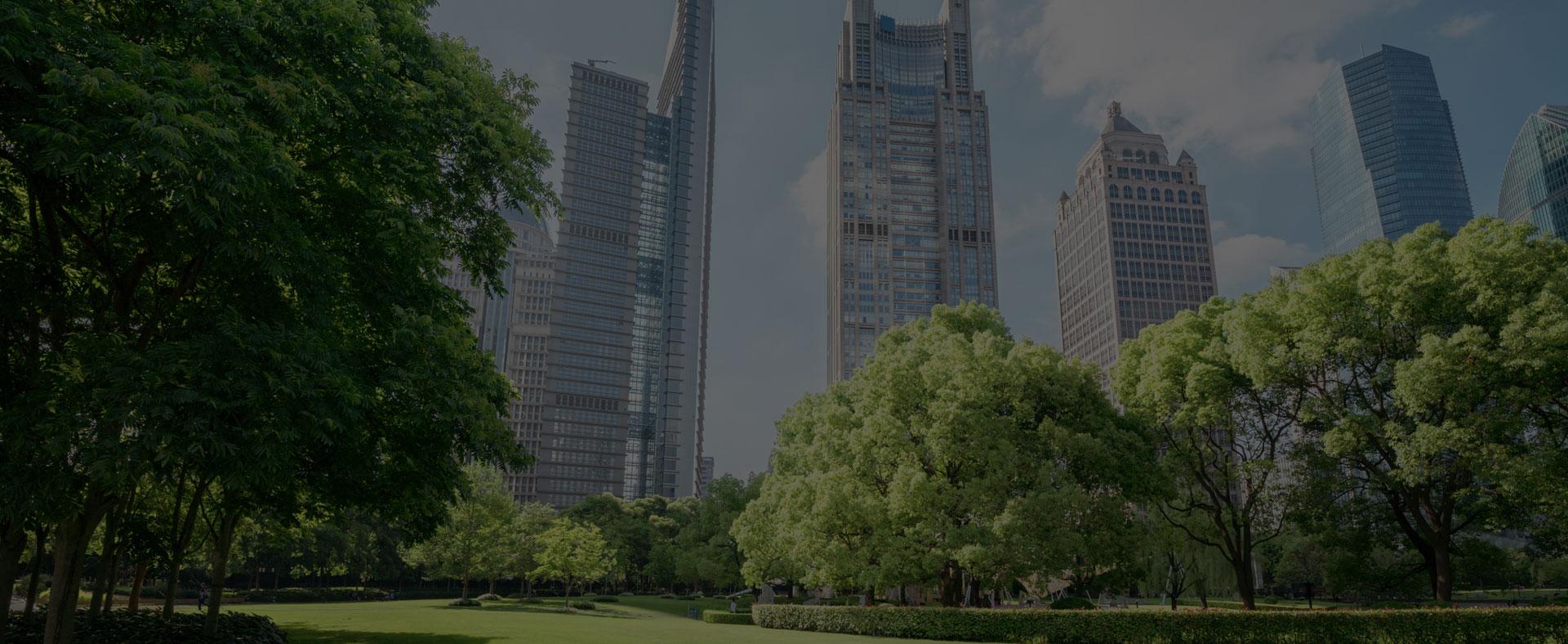 Espaces verts en milieu urbain